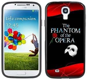 Phantom of the Opera Handmade Samsung Galaxy S4 Black Bumper Hard Plastic Case