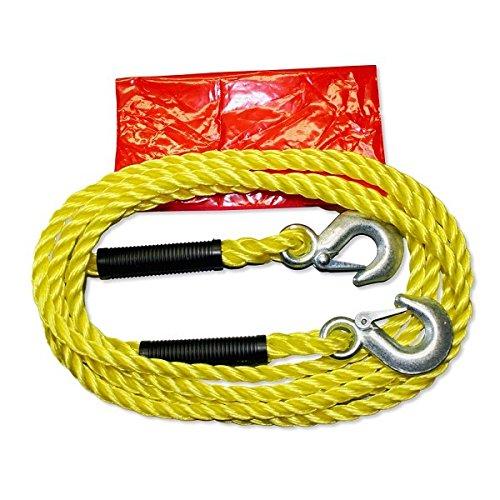 AUTONIK 122060/C/âble de remorquage jusqu/à 1500/kg 4/m Crochets