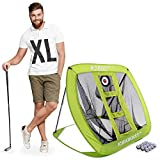 Rukket XL Golf Chipping Net | Outdoor/Indoor Golfing Practice Target Nets | Backyard Ball Hitting Games for Men, Women and Kids