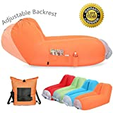Inflatable air Lounger Upgrade Adjustable