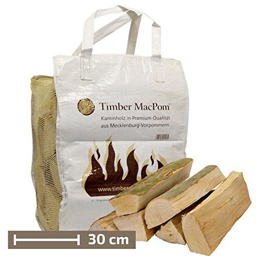 Premium-Buchenholz in der Tragetasche Timber MacPom