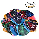 BestSounds Assorted Pearl Celluloid Guitar Picks-For Your Electric, Acoustic, or Bass Guitar (Thick/Heavy (0.96mm), 100 Pack)