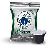 I0161 100 CAPSULE Respresso CAFFE' BORBONE MISCELA DEK compatibili NESPRESSO