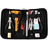 Wisehands Jewelry Making Tools Kit, 16 High Quality Jewelry Making Tools, Black Zippered Case