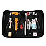 Wisehands Jewelry Making Tools Kit, 16 Jewelry Making Tools, Black Zippered Case