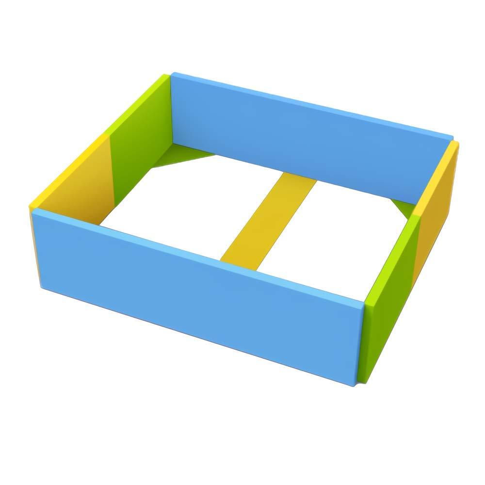ALZIP mat 【子供用 ガードキャッスル】 グレーG(208x148x40cm) 国際検査済みPU素材 B078ZVTXDZ スマート G G|スマート, ジャパンメディアセールス 7792a745