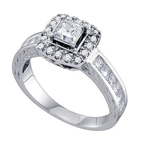 0.39 Ct Princess Diamond - 6