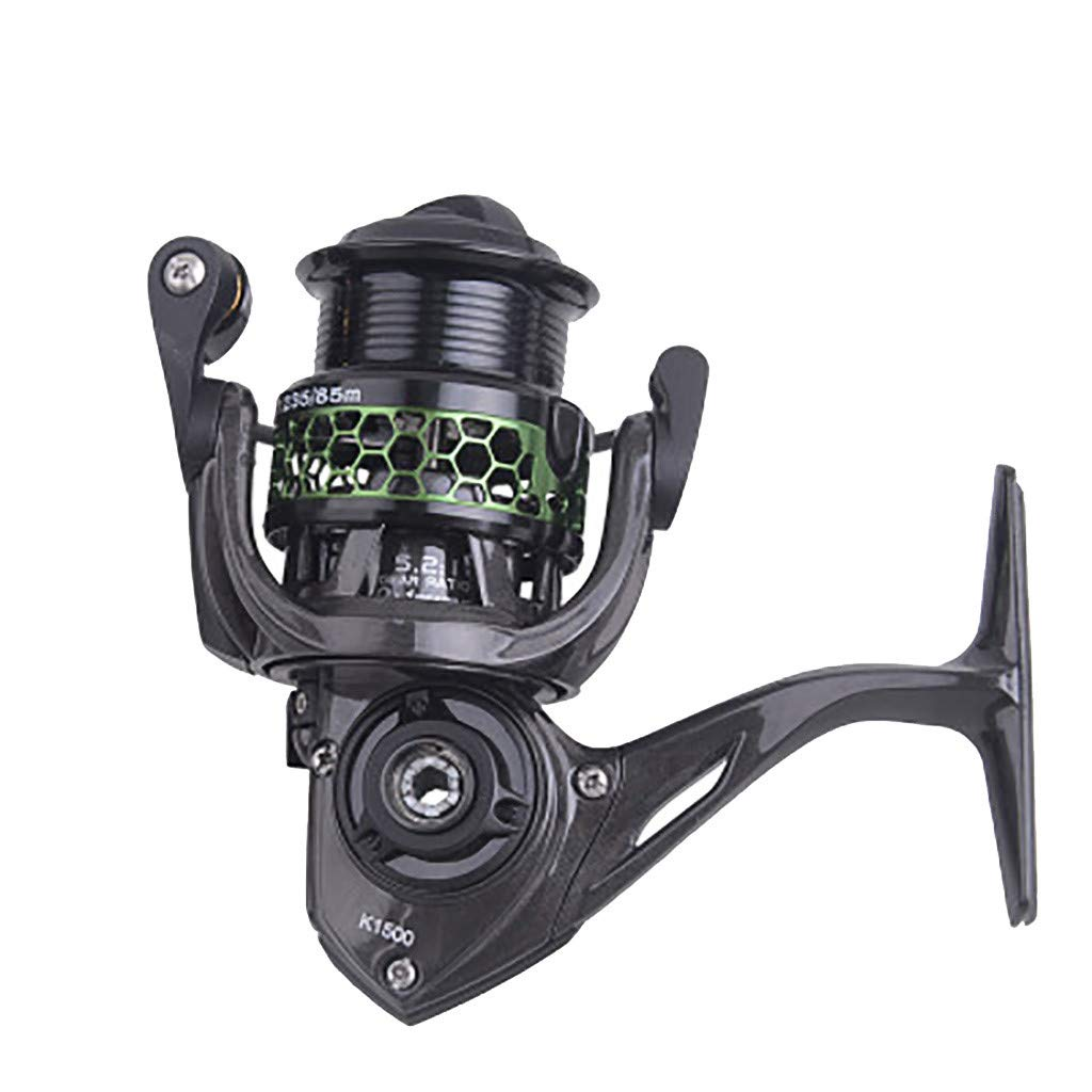 SMyFone Clearance-Free 10-Axle Metal Head Main Carbon Fiber Spinning Fishing Wheel