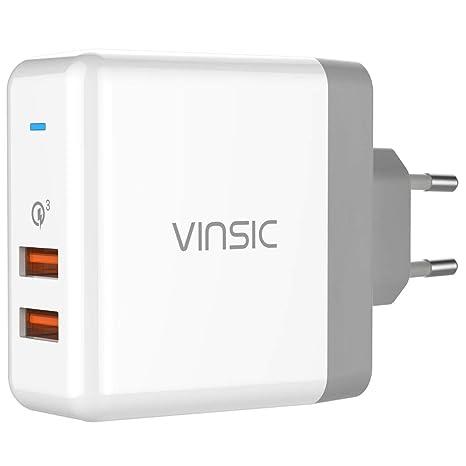 Cable flexible Piezas Vinsic 36W Adaptador de Viaje de ...