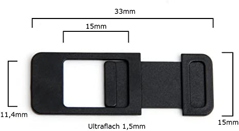 Cubierta protectora para cámara web, para portátil, PC, tablet ...