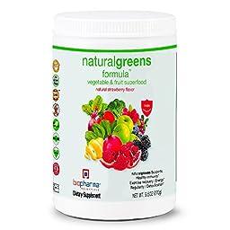 BioPharma Scientific NaturalGreens Greens Superfood, 9.5 Ounces (270g)