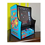 Ms Pac-Man and Galaga Home Bar Top Game