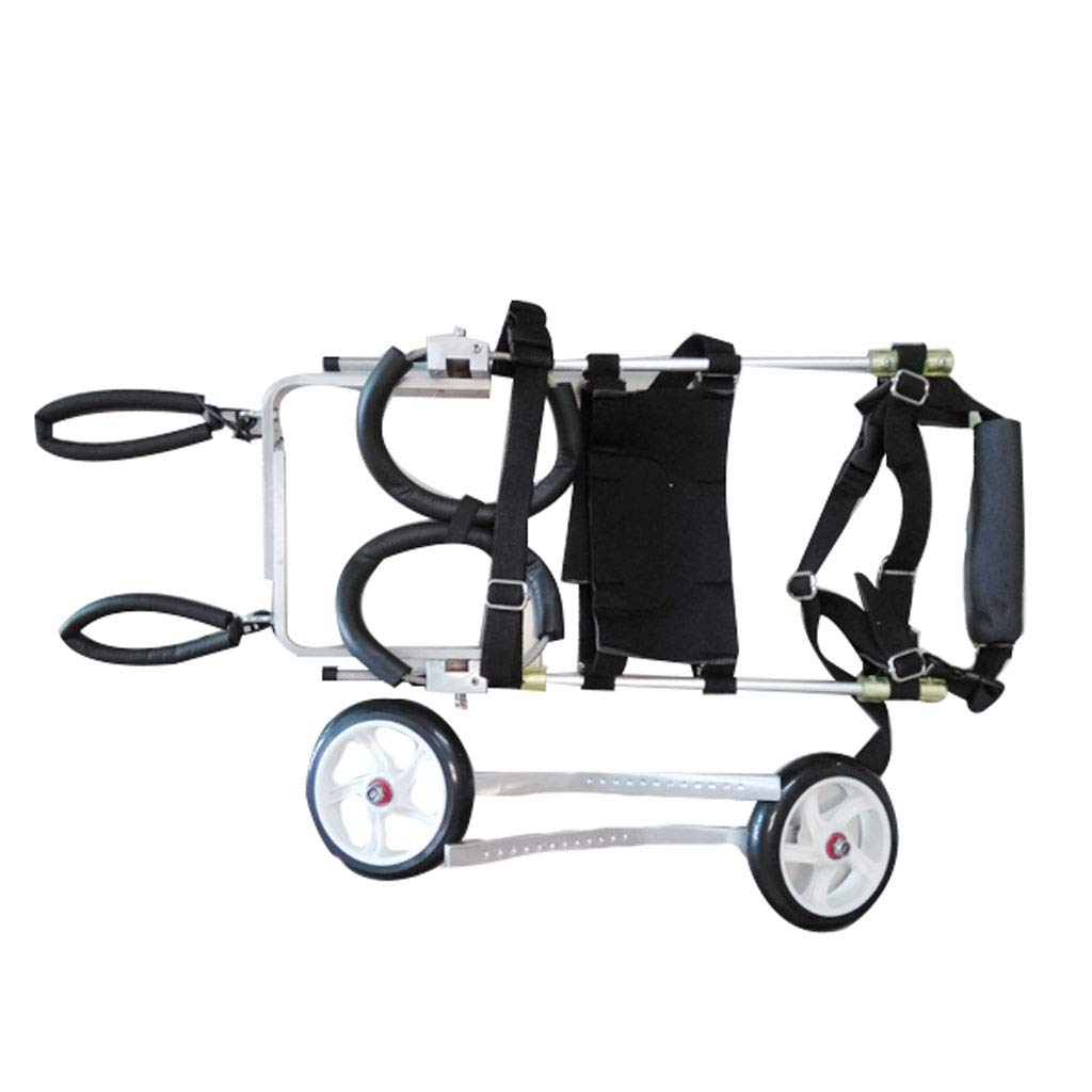 WmyCW Shock absorber dog wheelchair disabled dog hind limb assisted exercise car dog rehabilitation pet wheelchair