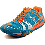 LI-NING Men's Saga TD Professional Badminton Sports Shoes Blue US 9