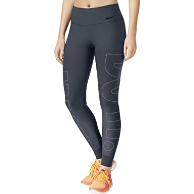 5c1a96bbc87d Nike Womens Legend Running Fitness Athletic Leggings Blue XS at Amazon Women s  Clothing store