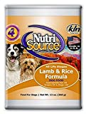 NutriSource Lamb & Rice Canned Dog Food 12/13 oz Case For Sale