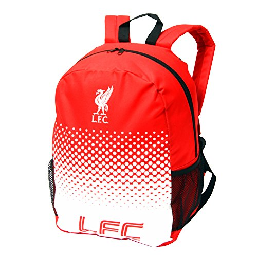 Liverpool FC Official Fade Crest Design Backpack (One Size) ()