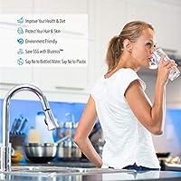 Luz ultravioleta UV Esterilizador de Osmosis Inversa purificador de agua 1 GPM Extra bombilla: Amazon.es: Bricolaje y herramientas