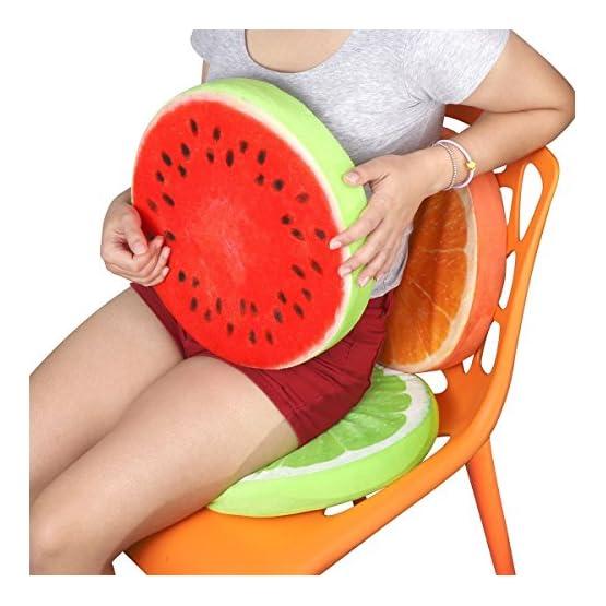 Lime Throw Pillow Fruit Plush 5