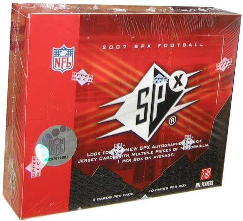 2007 Upper Deck SPx NFL Football HOBBY box (10 (Upper Deck Nfl Box)