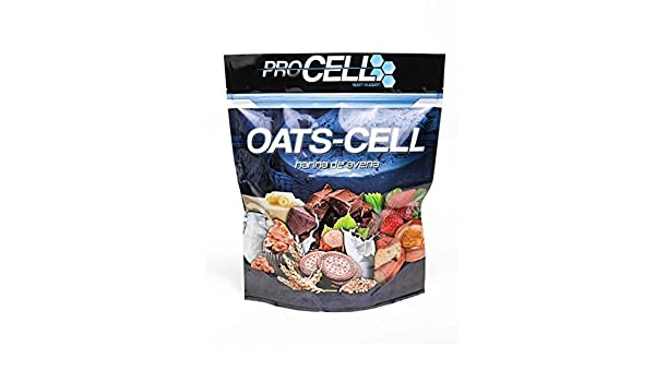 Oats-Cell - 1500 gramos - Sabor Chocolate blanco: Amazon.es: Salud y cuidado personal