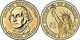 2007 George Washington, P & D Presidential Dollar