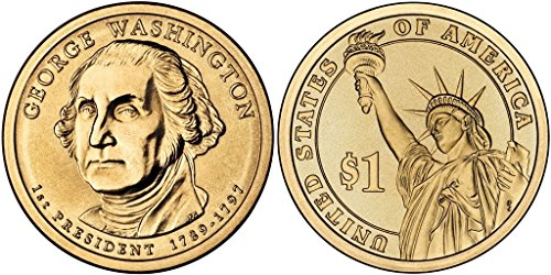 2007 George Washington, P & D Presidential Dollar