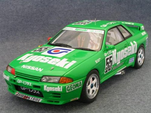 1/18 ニッサン スカイライン GT-R R32 グループA 1993 GP-1 プラス 日鉱共石 GEOMA #55(グリーン) 「MILLENNIUMシリーズ」 LIMITED EDITION 89379