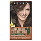 Clairol Natural Instincts, 5A / 24 Clove Medium Cool Brown, Semi-Permanent Hair Color, 1 Kit (Pack of 3)