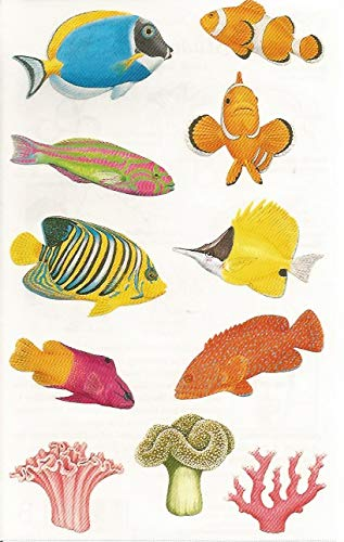 Mrs. Grossman's Coral Reef Fish Stickers ()