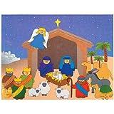 Do It Yourself Nativity Sticker Scene (1 dz)