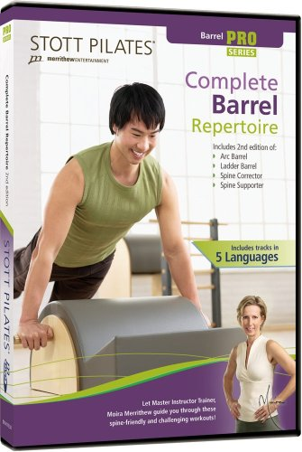 STOTT PILATES Complete Barrel Repertoire 2nd Edition (6 Languages)
