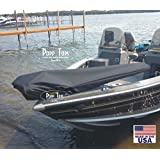 Minn Kota Trolling Motor Cover By PoppTops Fits Terrova w/ 60 shaft. Black