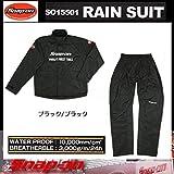 Snap-on rain suit black / black XL SO15501