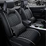 Programmable auto leather seat cushion 5 seats car seat covers full set-universal fit for the substance and the leather seats