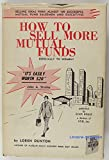img - for How to sell more mutual funds, especially to women book / textbook / text book