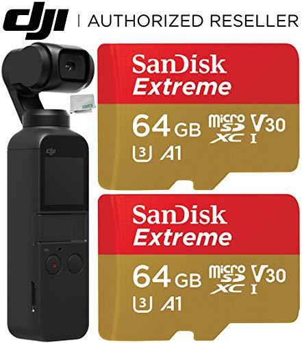 DJI Osmo Pocket Gimbal with SanDisk Extr...