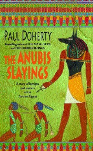 book cover of The Anubis Slayings