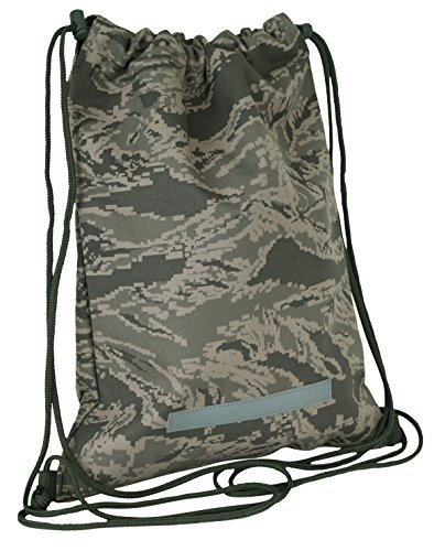 Air Force Abu Pattern - Mercury Tactical Gear Code Alpha Drawstring Backpack, Digital Camouflage, Air Force