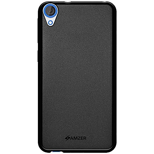 Amzer Pudding Soft Gel TPU Skin Fit Case Cover for HTC Desire 820, HTC Desire 820S, HTC Desire 820Q - Black