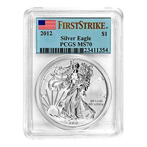 2012 American Silver Eagle First Strike $1 MS-70 PCGS