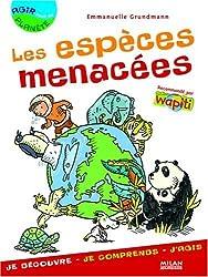 Les espèces menacées