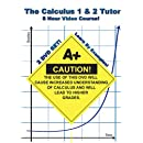 The Calculus 1 & 2 Tutor - 2 DVD Set! - 8 Hour Course! - Learn By Examples!
