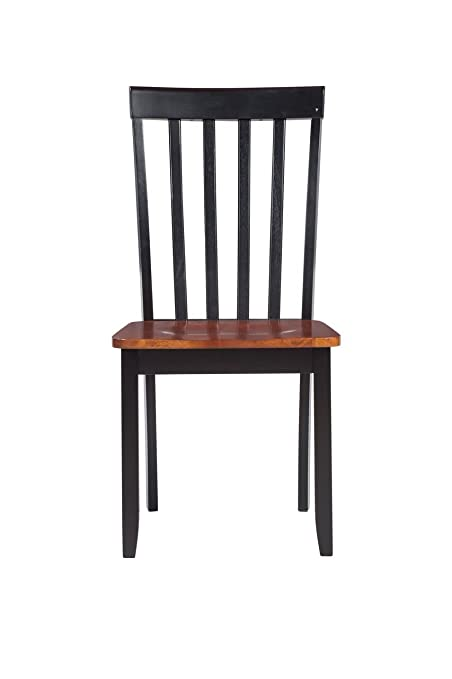 Exceptionnel Boraam 21031 Bloomington Dining Chair, Black/Cherry, Set Of 2
