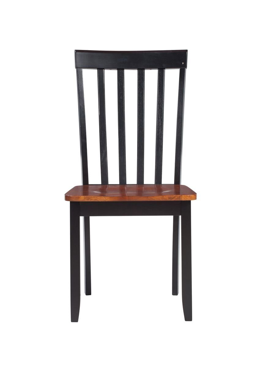Boraam 21031 Bloomington Dining Chair, Black/Cherry, Set of 2