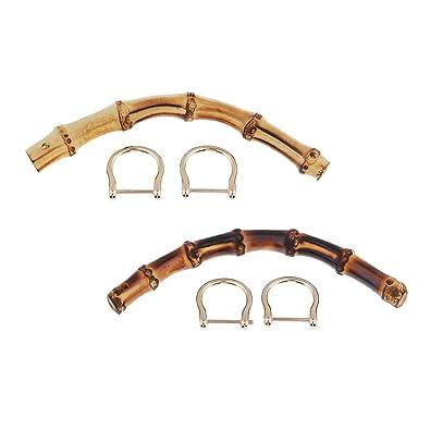 IPOTCH Paquete De 2 Bolsas De Bambú Bolsa Para Colgar Bolsas ...