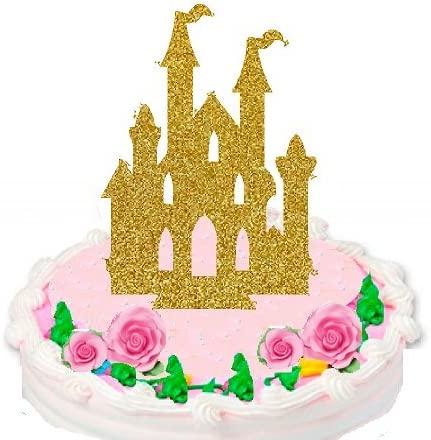 Pleasing Amazon Com Princess Castle Scenic Cake Decoration Cake Topper Funny Birthday Cards Online Inifofree Goldxyz
