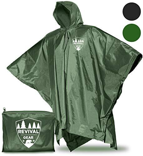 Reusable Rain Ponchos Universal