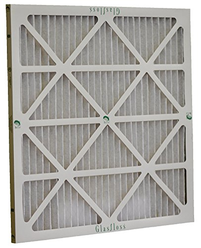 Glasfloss Industries ZLP20252 Z-Line Series ZL MERV 10 Pleated Filter, (Pack of 12)
