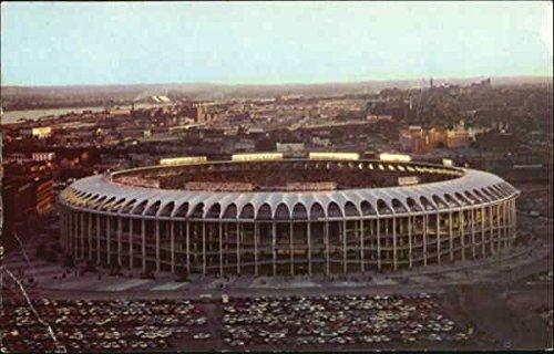 Civic Center Busch Memorial Stadium St. Louis, Missouri Original Vintage Postcard